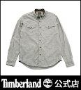 【アウトレット】ティンバーランド timberland メンズ 長袖 マムフォードリバー カモシャンブレー