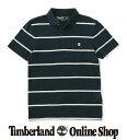 【公式】ティンバーランド メンズ 半袖 ウィアー リバー プリンテッド ストライプ ジャージー ポロシャツ Timberland
