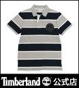 【アウトレット】ティンバーランド timberland メンズ 半袖 ケネベックリバー ストライプ ラグビー ポロ Timberland