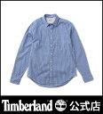 ティンバーランド timberland メンズ 長袖 フレンチ リバー ライトウェイト オックスフォード ミニ ギンガム シャツ スリム Timberland