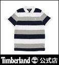 ティンバーランド timberland メンズ 半袖 ミラーズ リバー ピケ ワイド ストライプ ポロ Timberland