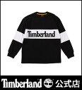 ティンバーランド timberland メンズ <SPORTS LIFESTYLE>長袖 オーバーサイズ ティー with リニア ロゴ Timberland