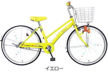 【スポーク飾り付】C.Dreamフェミニン22インチ変速なし乗りやすく女の子に人気のカラー&デザインの子供用自転車子ども自転車シードリーム子供自転車CDREAMブランド当店限定モデル22型