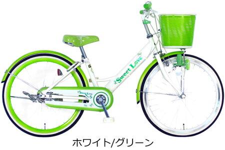 【完売】【スポーク飾り付】C.DreamスイートラブJr22インチ変速なしSW215軽い踏み心地女の子に人気のデザインのカラフル子供用自転車子ども自転車シードリーム子供自転車CDREAMブランド当店限定モデル22型