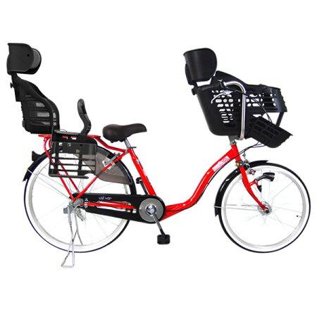 【3人乗り対応モデル】C.Dreamスイートママ後ろ子供乗せRBC-007DX3セット三人乗り対応子供乗せ自転車22・26インチ3段変速付LEDオートライト付シードリーム1歳から対応の子供乗せを装備したDX子供乗せ専用自転車CDREAMブランド