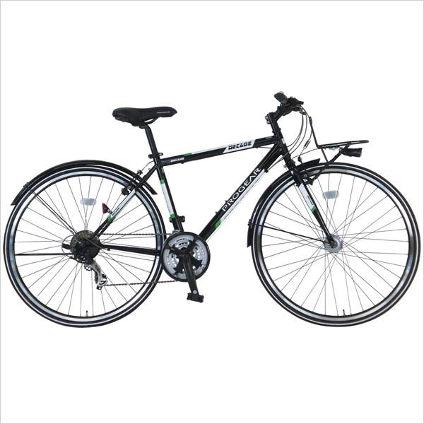【選べるパーツキャンペーン】C.Dream/PROGEAR アーバンクロスバイク ディケイドクロス LEDオートライト付 700C 21段変速付 自動点灯ライト、フルドロヨケ 通勤自転車にもおすすめ シードリーム プロギア CDREAM ブランド サイクリング 自転車 クロスバイク