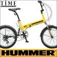 【完全整備済】2015HUMMER FDB206Wsus ハマー 20インチ折り畳み自転車(20インチ/6段変速付)【迫力の20型折りたたみ自転車!】【楽天市場最安値に挑戦】