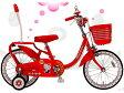 【完売】BRIDGESTONE(ブリヂストン)ハローキティ デラックス18★機能充実!!かわいいキティのキッズ自転車