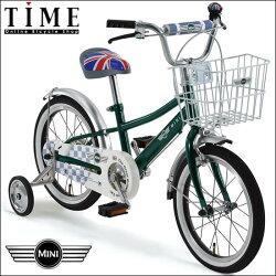 (MiniCooper)キッズミニ16(16インチ ... : キッズ 自転車 おしゃれ 16インチ : 自転車の