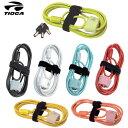 【自転車 ロック錠】TIOGA タイオガ ワイヤー錠 ダブルループケーブルロック LKW11000-06 M