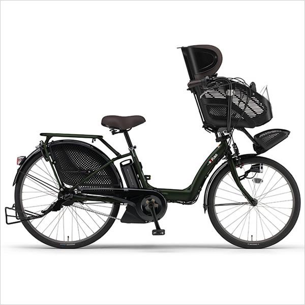2016ヤマハ パスキッス PAS Kiss PA26K 3人乗り対応モデル 26インチ パスキス 電動アシスト自転車 人気子供乗せ自転車 幼児2人同乗自転車 3人乗り自転車 PASキッス PASキス 26型 電動自転車 激安価格 幼児二人同乗モデル