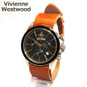 Vivienne Westwood (ヴィヴィアンウエストウッド) 腕時計 VV069BKBR CAMDEN LOCK 2 クロノグラフ ブラウン/シルバー/ゴールド 時計 メンズ ヴィヴィアン 【送料無料(※北海道・沖縄は1,000円)】