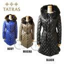 TATRAS (タトラス) ダウン レディース ダウンジャケット コート ロング LTA15A4399 PALMA BLACK ブラック MOCHA モカ NAVY ネイビー ..