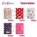 Cath Kidston(キャスキッドソン) チケットホルダー Ticket Holder カードケース 482615 482691 482714 482851 482967 花柄 ハート ドッ..