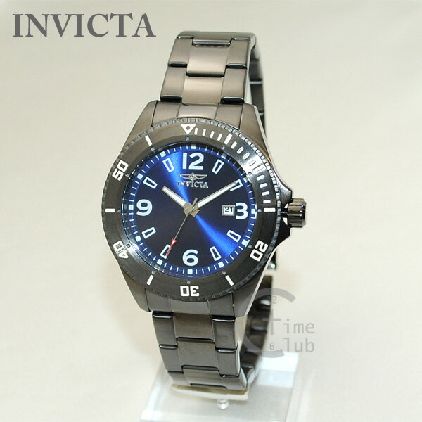 インビクタ 腕時計 INVICTA 時計 14316 Pro Diver ガンメタル/ブルー メンズ ブレス インヴィクタ 【送料無料(※北海道・沖縄は1,000円)】 [INVICTA][インビクタ][インヴィクタ][腕時計][時計][ウォッチ]