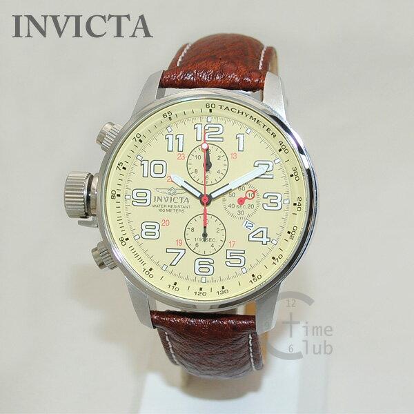 インビクタ 腕時計 INVICTA 時計 2772 Force フォース ブラウン レザー/シルバー メンズ インヴィクタ 【送料無料(※北海道・沖縄は1,000円)】 [INVICTA][インビクタ][インヴィクタ][腕時計][時計][ウォッチ]