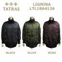 在庫処分! TATRAS (タトラス) ダウン レディース LTL18A4136 LIGNINA ダウンジャケット ダウンコート BLACK ブラック OLIVE オリー..