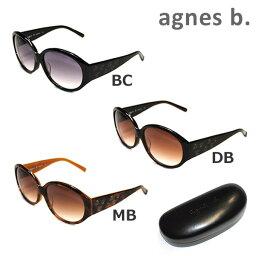 【国内正規品】 agnes b. (<strong>アニエスベー</strong>) サングラス AB-2800BC AB-2800DB AB-2800MB レディース アジアンフィット UVカット