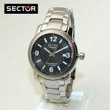 新入荷!SECTOR (セクター) 腕時計 R3253139025 ブレス ブラック/シルバー メンズ 時計 ウォッチ 【(※北海道?沖縄は1,000)】(sector-r3253139025)