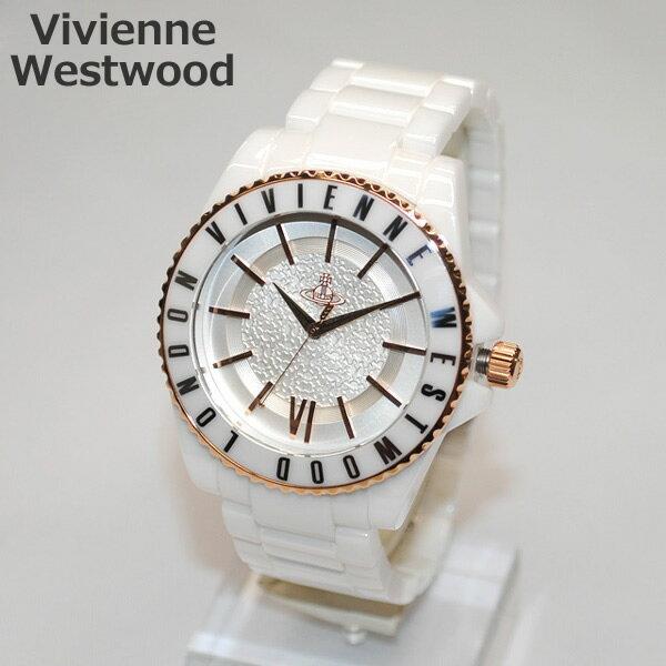 Vivienne Westwood (ヴィヴィアンウエストウッド) 腕時計 VV048RSWH ホワイト/ゴールド 時計 メンズ レディース ヴィヴィアン タイムマシン 【送料無料(※北海道・沖縄は1,000円)】【_包装選択】 [Vivienne Westwood][ヴィヴィアン][ビビアン][腕時計][時計][ウォッチ]