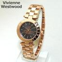Vivienne Westwood (ヴィヴィアンウエストウッド) 腕時計 VV092RS ローズゴールド 時計 レディース ヴィヴィアン タイムマシン ブレス 【送料無料(※北海道・沖縄は1,000
