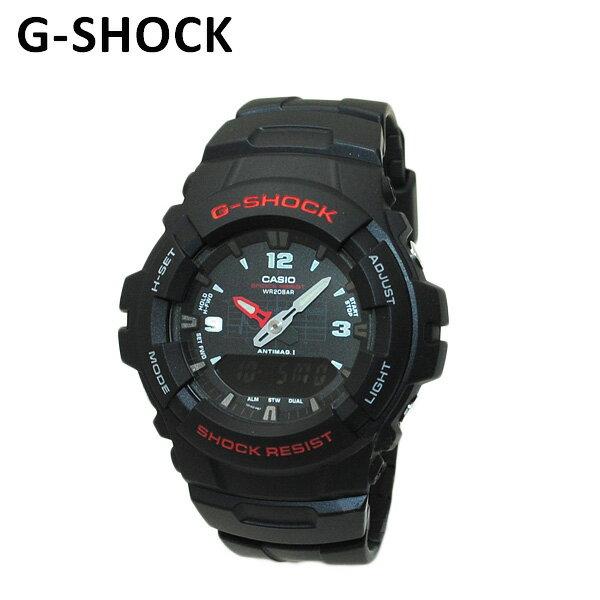 【国内正規品】 CASIO(カシオ) G-SHOCK(Gショック) G-100-1BMJF 時計 腕時計 【送料無料(※北海道・沖縄は1,000円)】 [国内正規品][CASIO][カシオ][G-SHOCK][Gショック]