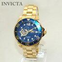 インビクタ 腕時計 INVICTA 時計 15393 Pro Diver ゴールド/ブルー メンズ ブレス インヴィクタ 【送料無料(※北海道 沖縄は1,000円)】