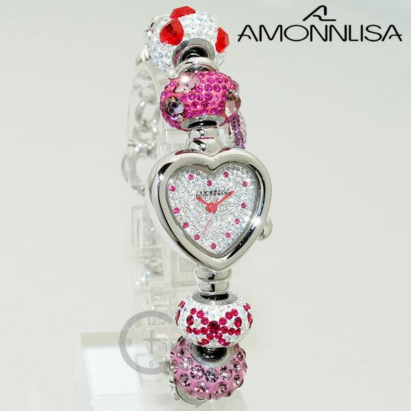 AMONNLISA アモンリザ 腕時計 AL31203 キティ 時計 レディース スワロフスキー 【送料無料(※北海道・沖縄は1,000円)】 [AMONNLISA][アモンリザ][キティ][腕時計][時計][スワロフスキー][ウォッチ]