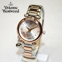 Vivienne Westwood (ヴィヴィアンウエストウッド) 腕時計 VV006RSSL ORB シルバー/ピンクゴールド 時計 レディース ヴィヴィアン タイムマシン 【送料無料(※北海道・沖縄は1,000円)】【楽ギフ_包装選択】(vw-vv006rssl)