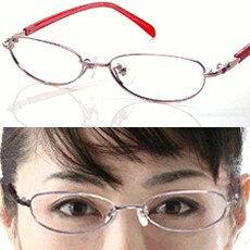 ピンクアイローブ・ニコン遠近両用メガネ・[全額返金保証]日本製遠近両用メガネ