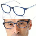 (RSN)TRネイビー・パソコン用中近両用メガネ(近近両用メガネ)パソコン用メガネ 老眼・PC老眼鏡・パソコン用老眼鏡