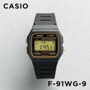 【並行輸入品】CASIO STANDARD DIGITAL カシオ スタンダード デジタル F-91WG-9 腕時計 メンズ レディース チープカシオ チプカシ プチプラ ブラック 黒 ゴールド 金