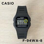 【並行輸入品】CASIO STANDARD DIGITAL カシオ スタンダード デジタル F-94WA-8 腕時計 メンズ レディース チープカシオ チプカシ プチプラ ブラック 黒
