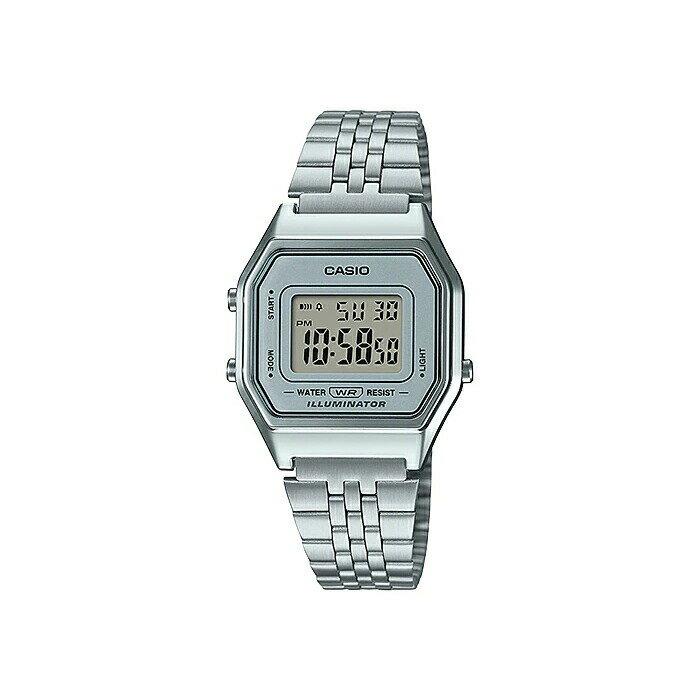 【並行輸入品】CASIO STANDARD DIGITAL LADYS カシオ スタンダード デジタル レディース LA680WA-7 腕時計 チープカシオ チプカシ プチプラ シルバー