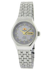 ORIENTFLOWERAUTOMATICLADYSオリエントフラワーオートマチックレディース1NQ03005K9送料無料腕時計時計シルバーグレー日本未発売