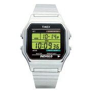 【並行輸入品】TIMEX CLASSIC DIGITAL タイメックス クラシック デジタル T78587 腕時計 メンズ レディース デジタル シルバー ブラック 黒