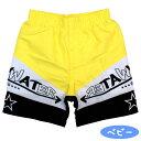 水着 赤ちゃん ベビー スイミング 男の子 サーフパンツ ロゴ 海水パンツ ベビー水着 水遊び☆全2色