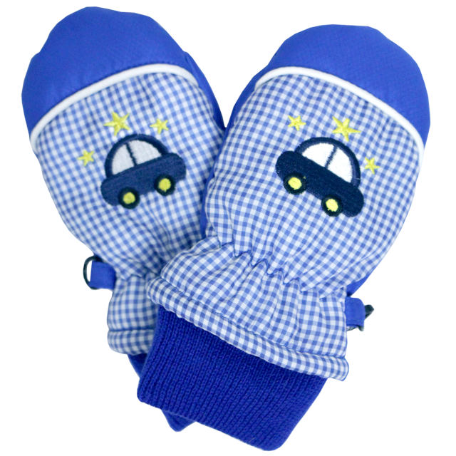 ベビーミトン手袋子供赤ちゃんベビー男の子ミトン手首リブ付きスノーグローブクリマ柄1-2才/3-4才全