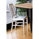 ショッピング椅子 【新商品】NAVY CHAIR ネイビーチェア ポップでオシャレな椅子[シルバー]