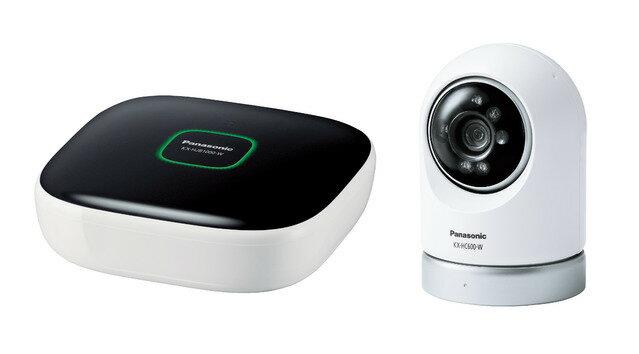 Panasonic 屋内スイングカメラキット KX-HC600K-W