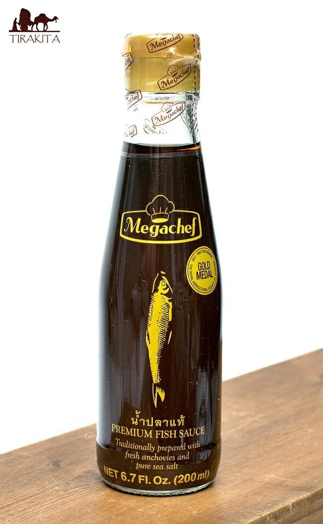 ナンプラー【フィッシュソース・プレミアム】 【Megachef】 / 魚醤 高級品 あす楽