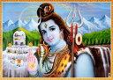 〔約70.5cm×約50.5cm〕大判インドのヒンドゥー神様ポ