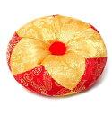 シンギングボウル用マット(12cm)【赤と黄色】 台座 仏具 瞑想 シンギングボール ヒーリング【レビューで250円キャッシュバック!】