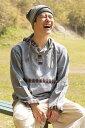 ネパールゲリのプルオーバーパーカー / レディース フリーサイズ メンズ 春 秋 ユニセックス フード アジアンファッション エスニック衣料 エスニックファッション