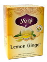 レモンジンジャー【Yogi tea ヨギティー】 / ハーブティー オーガニック ヨガ フェンネル ティーバック アジアン食品 エスニック食材