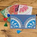封筒 インドの封筒 BANDHEJ プレゼント 手紙 ポストカード エンベロープ envelope / レビューでタイカレープレゼント あす楽
