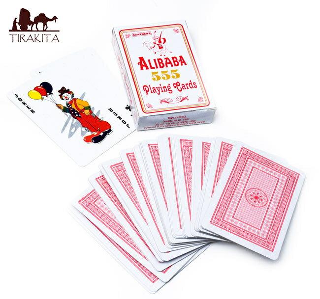 インドのトランプ 【ALIBABA 555】 / おもちゃ あす楽