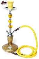 シーシャ シーシャ(水タバコ)黄色【約43cm】 / 送料無料 レビューでタイカレープレゼント あす楽