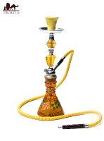 シーシャ(水タバコ)黄色【約47cm】 / フレーバー シーシャの炭 送料無料 レビューでタイカレープレゼント あす楽