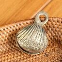 ベル インドの鈴 貝殻グングル[約4cm×約3cm] / レビューでタイカレープレゼント あす楽